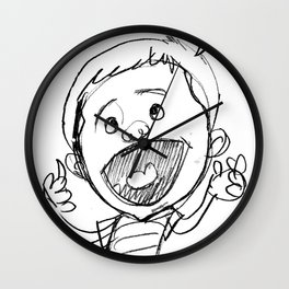 Welcome to the World of Tots Wall Clock