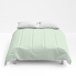 Light pistachio. Comforters