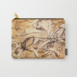 Panel of Lions // Chauvet Cave Carry-All Pouch