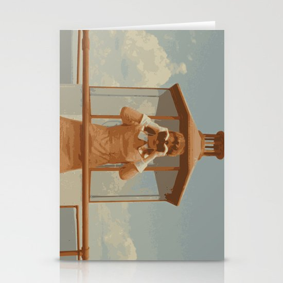 Moonrise Kingdom Lighthouse Stationery Cards