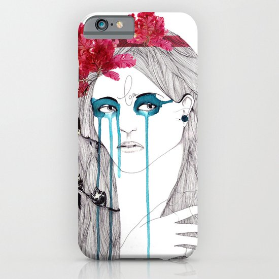 Painted Eyes iPhone & iPod Case