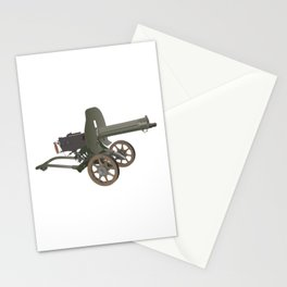 Maxim Gun Stationery Cards