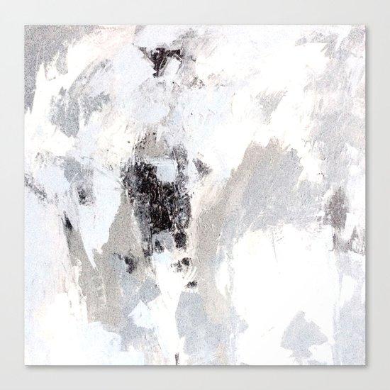 calm winter Canvas Print