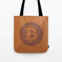 Bitcoin Copper Coin Tote Bag