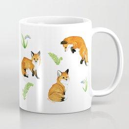 Woodland & Red Foxes Coffee Mug