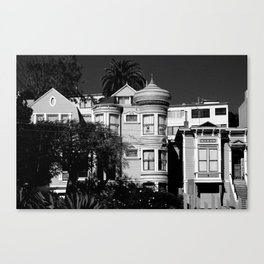 Kind Of Three Of A Kind - B&W Canvas Print