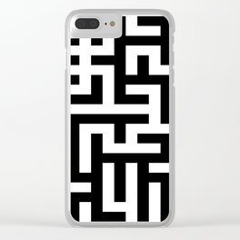 No way out Clear iPhone Case