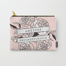 anxious procrastinator Carry-All Pouch
