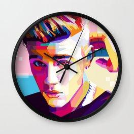 JB - J u s t i n  B i e b e r Wall Clock