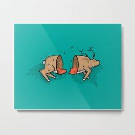 Oh Deer! Metal Print