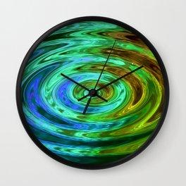 Holland Chakra AquaGreen Wall Clock