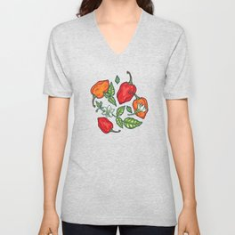 naughty habanero Unisex V-Neck
