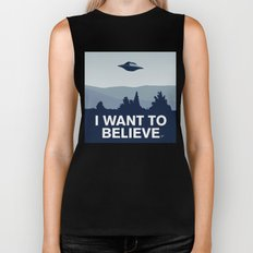 My X-files: I want to believe poster Biker Tank
