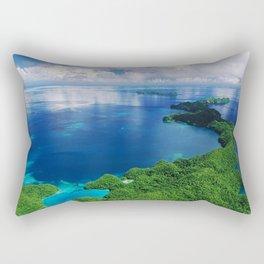 WOW!!! PALAU!! Tropical Island Hideaway Rectangular Pillow
