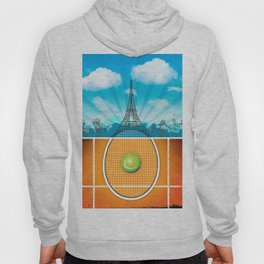 Paris Tennis Hoody