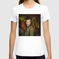 cyrilliart T-shirts featuring Dragon Series: Harry by Cyrilliart