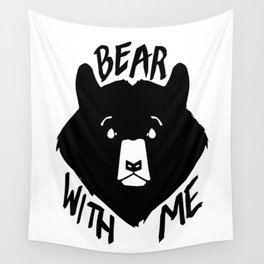 Bear With Me Wall Tapestry