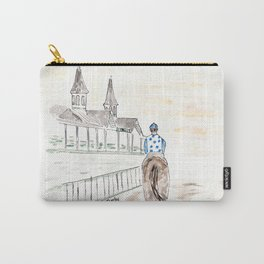 Dawn at Downs, Churchill Downs, Kentucky Derby Carry-All Pouch