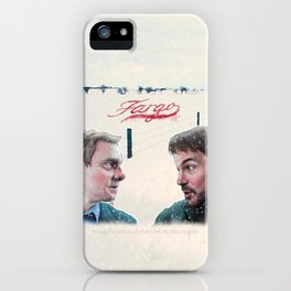 Fargo tv serie iPhone Case