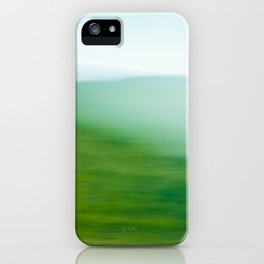 Mountains and Sea iPhone Case