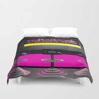 disco Duvet Covers featuring Disco by Littlebell