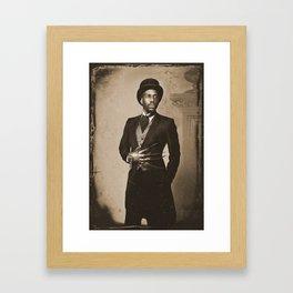 Boogie Horror: 1800's - Sepia Framed Art Print