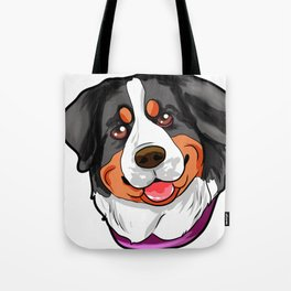 Bernese Mountain Dog Doggie Puppy Present Gift Tote Bag