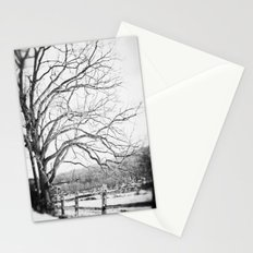 Bare winter Stationery Cards