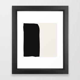 Black Book Framed Art Print