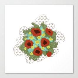 Bouquet #4 Canvas Print