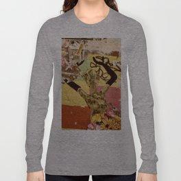 Barcelona Street Art - wall 004 Long Sleeve T-shirt