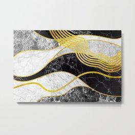 Waves 06 Metal Print