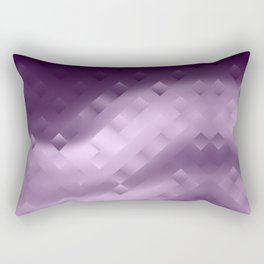 Abstraction. Purple . Rectangular Pillow