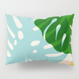 Abstraction_PLANTS_01 Pillow Sham