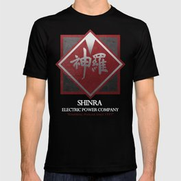 Final Fantasy VII: Shinra Powering Midgar T-shirt