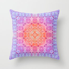 Sunrise Pattern Throw Pillow