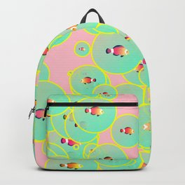 Fish and bubbles Backpack