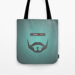 Sirius Black (Famous mustaches and beards) Tote Bag