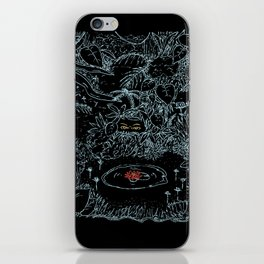 Watching cowardly iPhone Skin
