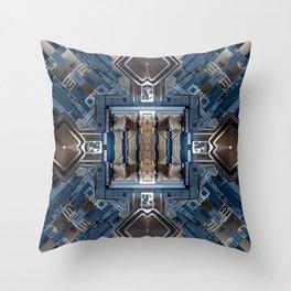 X-CHIP SERIES 02 Throw Pillow