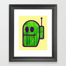 Grubbo On Bamboo Patrol. Framed Art Print