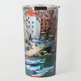 Italy. Cinque Terre marina Travel Mug