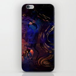 Rosa diptych iPhone Skin