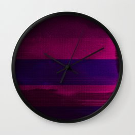 waves (04) Wall Clock