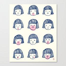 Bubble bubble bubble gum Canvas Print