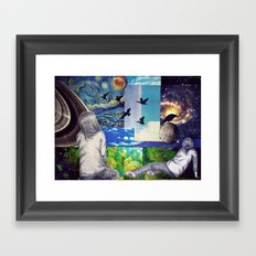 SKY Framed Art Print