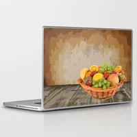 fruit Laptop & iPad Skins featuring fruit by Shea33