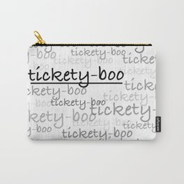 Tickety-Boo - Call the Midwife Carry-All Pouch