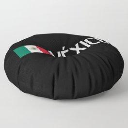 Mexican Flag & México Floor Pillow