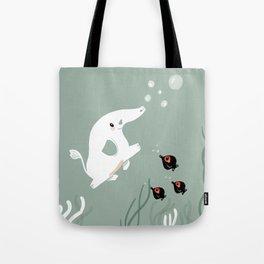 Ocean Elephant Tote Bag